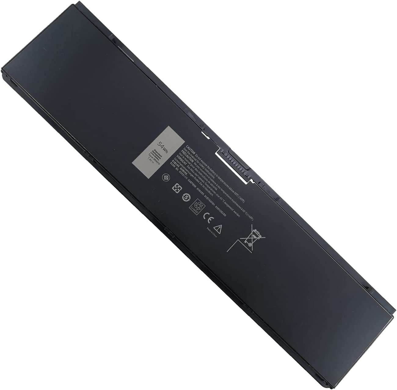 Damaite 54WH 7100mAh 3RNFD Laptop Battery for Dell Latitude E7440 E7450 E7420 Series 34GKR PFXCR F38HT G95J5 G0G2M T19VW 909H5 0909H5 7440 7450 7420 Replacement Notebook High Performance 4 Cells 7.4V