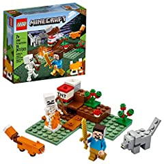 This amazing LEGO Minecraft set lets kids imagine and build their own Minecraft environment in the real world, then rearrange, rebuild and reimagine it for new adventures! Take Minecraft players to a new dimension as they create exciting adventures i...