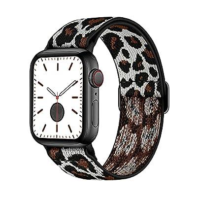 AMANECER Stretchable Nylon Watch Bands Compatib...
