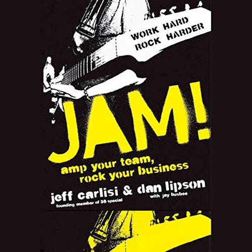 Jam! audiobook cover art