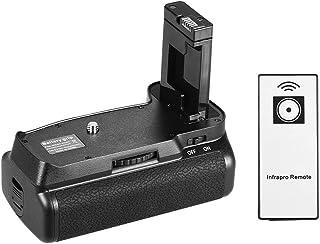 حامل بطارية رأسي من أندور لكاميرا نيكون D5300 D3300 D3200 D3100 دي اس ال ار EN-EL 14 تعمل ببطارية مع جهاز التحكم عن بعد با...
