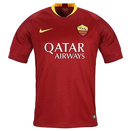 Nike Roma M BRT Stad JSY SS HM Top a Manica Corta, Nessun Genere, Team Rosso/University Gold, S