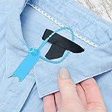 ciciglow Etiquetas de Bridas, Hechas de excelente Material PP, antienvejecimiento, Resistentes al ácido y al frío, adecuadas para Todo Tipo de Industrias(Blue)