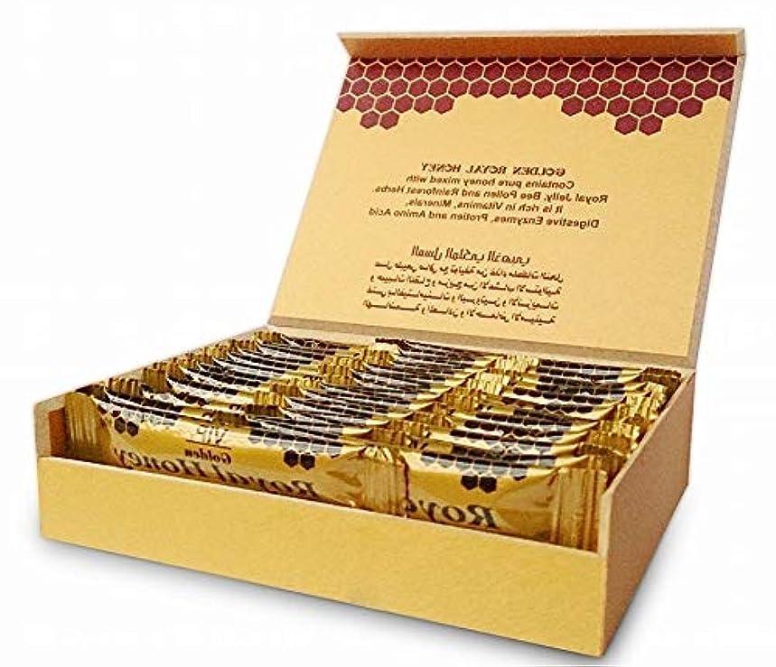焦がすクローン聖なるゴールデンロイヤルハニー Golden Royal Honey 10g×24袋入 ハーフサイズ?スティック(10g)便利サイズ 【海外直送品】