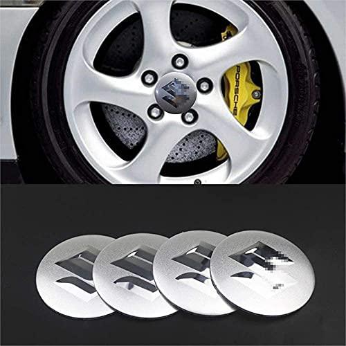 4Pcs Coche Rueda Centro Cubierta Tapas Insignia para Suzuki jimny SWIFT VITARA SX4, Llantas Buje Impermeable ProteccióN Accesorios