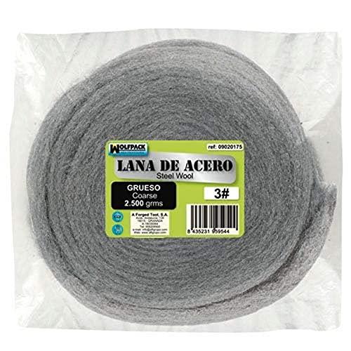 Lana De Acero 2500 gr. Lisa 1