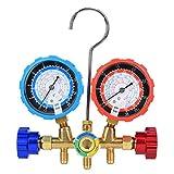 Medidor de reparación de aire acondicionado, herramienta de evacuación, medidor de colector de detección de refrigerante de aire acondicionado, R407C R134A para R22 R404A