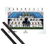 1art1 Fußball Poster (91x61 cm) Real Madrid 2017/2018,
