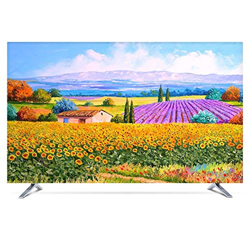 YMYP08 Creative TV-afdekking, waterbestendig, efficiënt, stofdicht, plafond, 22 – 75 bureau maxi/ophanging TV Dust Cover (kleur: K, maat: 40 in)