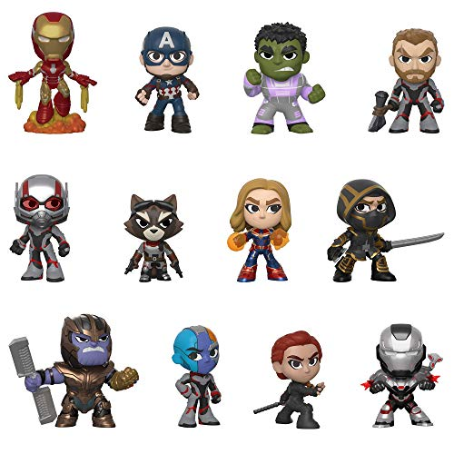 Funko- Mystery Mini Blind Box: Avengers Endgame: Styles Will Vary Marvel Vengadores Collectible figure, Multicolor, Estándar (37200) , color/modelo surtido