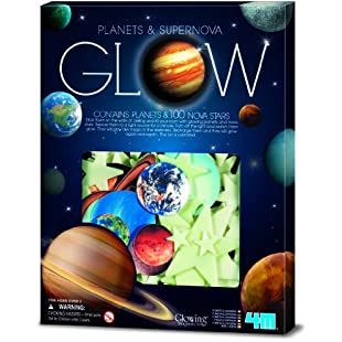 4M Glow in the Dark Planets and Supernova 100pcs:Examen17result
