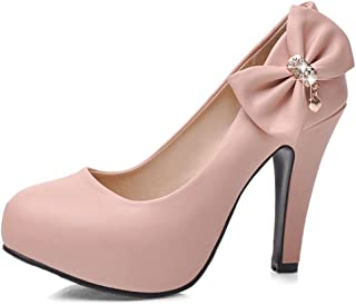 pink high heels with spikes