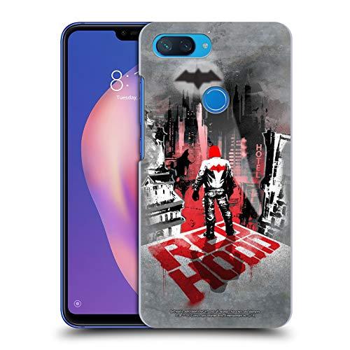 Head Case Designs Licenciado Oficialmente Batman: Arkham Knight Capucha Roja Gráficos Carcasa rígida Compatible con Xiaomi Mi 8 Lite/Mi 8X