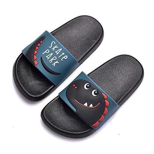 Chanclas Mujer Sandalias Playa Mujer Zapatillas de Mujer para Mujer Dinosaurio Antideslizantes Zapatillas Piscina Femenino
