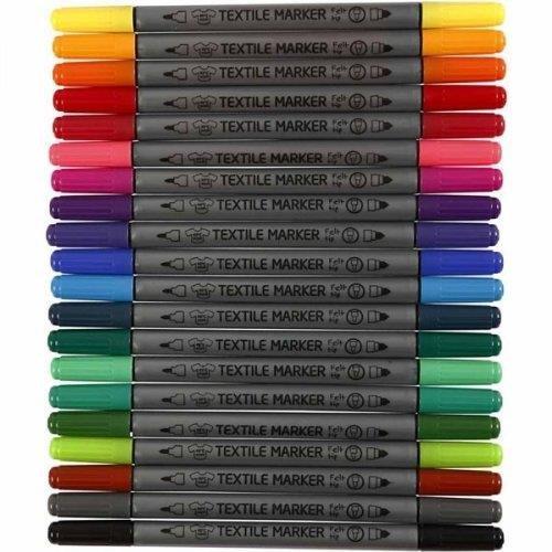 Art-Manufacture-Design -  20 Textilmarker