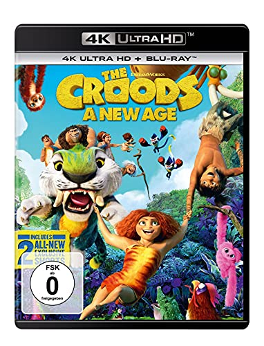 Die Croods - Alles auf Anfang (4K Ultra HD) (+ Blu-ray 2D)