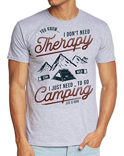 I Dont Need therapie I just Need to go Camping T-shirt tenten, camper, caravan, camping S M L XL 2XL