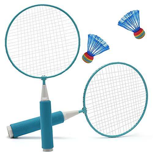 ZGY Raqueta de bádminton para niños deportes al aire libre y ocio juguetes raqueta de tenis bádminton interior y al aire libre padres e hijos juguetes 2 bádminton