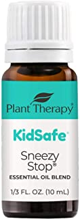Sponsored Ad - Plant Therapy KidSafe Sneezy Stop Essential Oil Blend 10 mL (1/3 oz) 100% Pure, Undiluted, Therapeutic Grade
