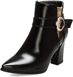 BalaMasa Womens ABS14156 Pu Boots
