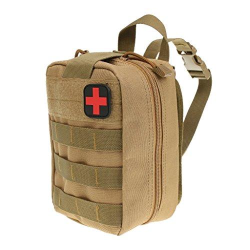 Lixada Ext/érieure Molle M/édical Poche Trousse de Premiers Soins Utilitaire Sac Survie durgence Premier R/épondeur Medic Bag