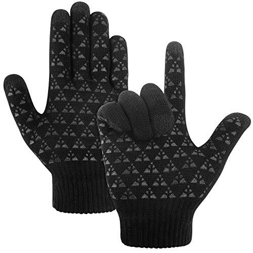 Touchscreen Gloves Winter Knit Glov…