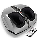 SereneLife SLFTMSG35 Shiatsu Foot Massager - Shiatsu Therapy for Heels, Toes and Ankles for Pain Relief and...