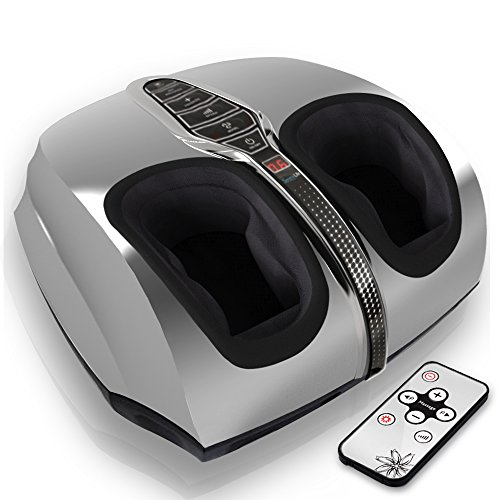 SereneLife SLFTMSG35 Shiatsu Foot Massager | Shiatsu Therapy for Heels, Toes and Ankles | for Pain...