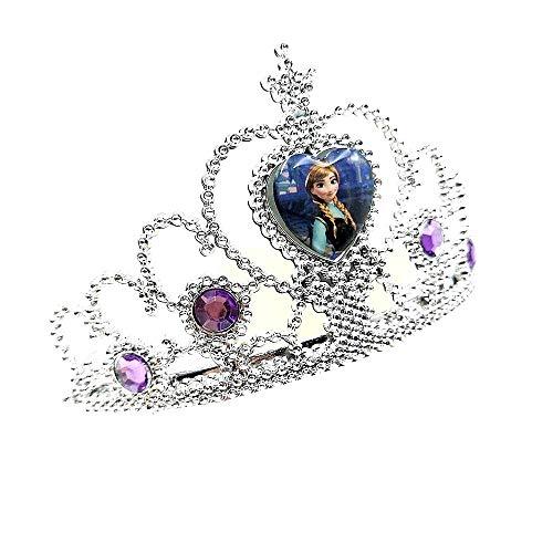 Corona Anna Frozen Accessori - Carnevale - Halloween - Cosplay - Bambina Idea Regalo Natale Compleanno Festa