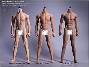 """1//6 SCALA Uomo Nero//Marrone Pelle Scarpe Giocattoli per 12/"""" Action Figure Corpo Maschile"""