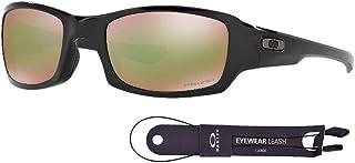 a9a3c8e789 Oakley Fives OO9238 - Gafas de sol cuadradas para hombre + paquete con kit  de correa