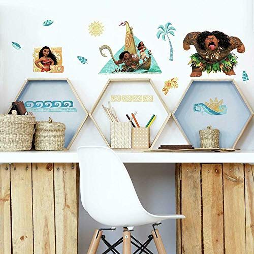 RoomMates Moana Peel And Stick Wall Decals - RMK3382SCS,Multi
