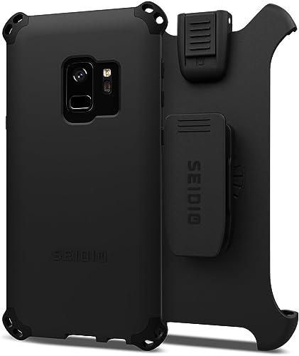 lowest Seidio Dilex 2021 Combo for Samsung Galaxy S9 lowest (Black/Black) outlet online sale