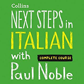 Next Steps in Italian with Paul Noble - Complete Course     Italian Made Easy with Your Personal Language Coach              By:                                                                                                                                 Paul Noble                               Narrated by:                                                                                                                                 Paul Noble                      Length: 7 hrs and 37 mins     3 ratings     Overall 4.0