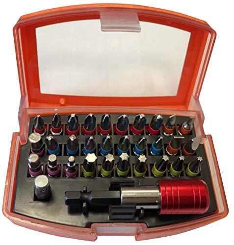 Haukka 850052 Puntas Atornillador con Adaptador Magnetico, 32 Piezas