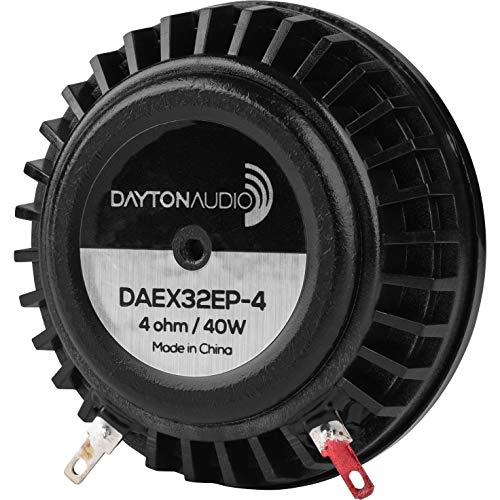 commercial Dayton AudioDAEX 32EP-4 Motor 32mm Exciter 40W 4 Ohm bass shakers