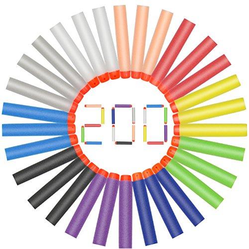 Hiveseen 200pcs Recargas Dardos Nerf,...
