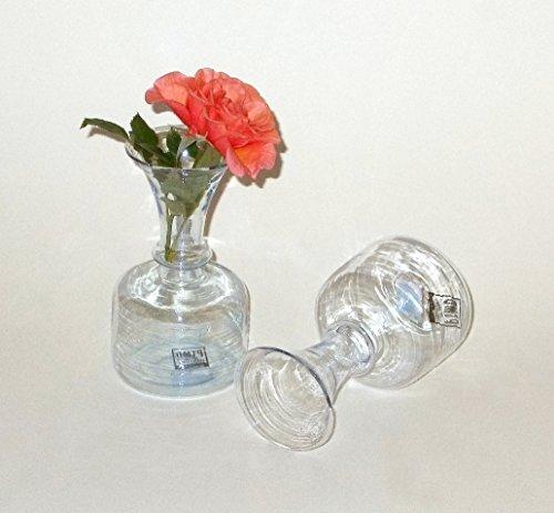PTMD Vase aus Glas 11,5 cm 2er-Set