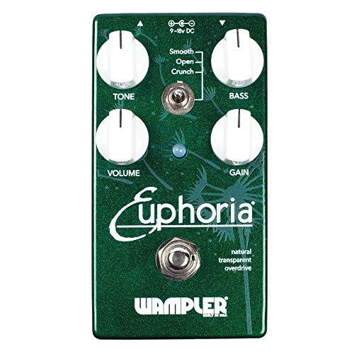 Wampler Euphoria V2 Natural Transparent Overdrive Guitar Effects Pedal