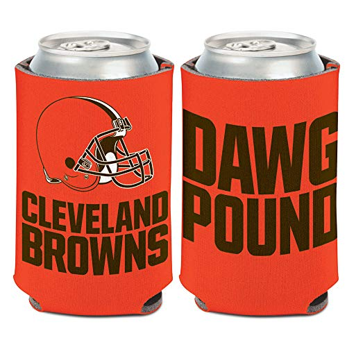 WinCraft NFL Cleveland Browns Slogan Can Cooler DAWG Pound