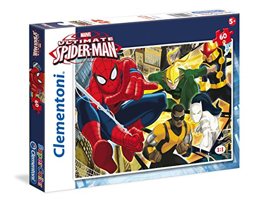 Clementoni - Puzzle Ultimate Spiderman, 60 Piezas (268870)