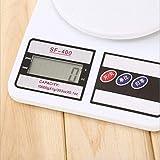NC Báscula de Cocina, báscula Digital para Alimentos con Capacidad de Alta precisión, báscula de medición multifunción Digital -10 kg / 1 g
