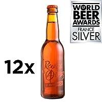 La rousse des alpes est une bière douce aux notes de céréales grillées et de biscuit.