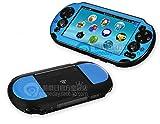 Szjay  Metal Aluminum Metallic Protection Hard Case Cover for Playstation Ps Vita 2000 Slim (Sky Blue)