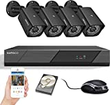 [8CH Expandable] SANSCO Pro CCTV Security Camera System with FHD