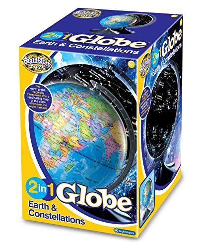 brainstorm 2 in 1 Earth and Constellation Globe
