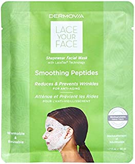 LACE YOUR FACE Compression Facial Mask - Smoothing Peptides - Single Mask