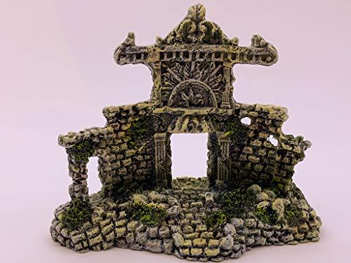 NA2 decoración acuarios Adorno Acuario Maya ruinas Lote de 3 Figuras