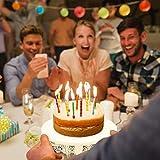 JUJOYBD Tortenplatte Vintage, Torten-Teller mit Fuß, Cupcake Ständer Display Metall-Platte für Torten Kuchen Dessert in Weiß, Ø 250 mm, Hochzeit Party Deko - 8