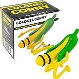 Fairly Odd Novelties Colonel Corn Bottle Stopper Funny Novelty Wine Liquor Beer Plug Gag Gift, One Size